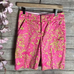 Lilly Pulitzer Secret Garden Resort Fit Shorts